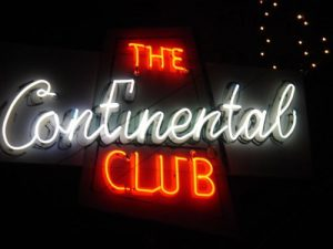 Continental Club - photo courtesy of Flicker.com