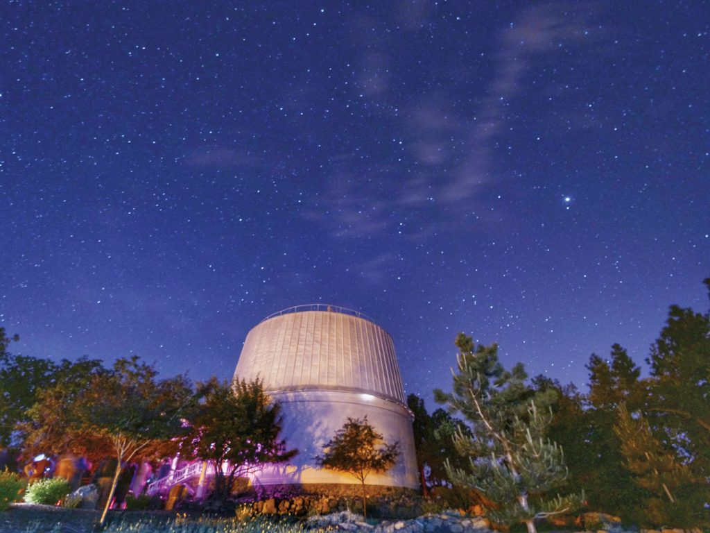 Flagstaff – Lowell Observatory: Photo Courtesy of Ji Rui