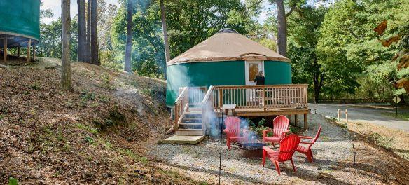 Circle M Yurt